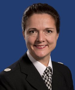Undated picture of Rebekah Sutcliffe, Assistant Chief Constable, Greater Manchester Police, who has been appearing before a disciplinary panel which has been told that she discredited the police service with a drunken tirade of abuse to another high-ranking colleague about the size of her breasts. PRESS ASSOCIATION Photo. Issue date: Tuesday November 29, 2016. Ms Sutcliffe, who is currently suspended, admits misconduct but denies gross misconduct, which could lead to dismissal. See PA story POLICE Sutcliffe. Photo credit should read: Chris Oldham/GMP/PA Wire. NOTE TO EDITORS: This handout photo may only be used in for editorial reporting purposes for the contemporaneous illustration of events, things or the people in the image or facts mentioned in the caption. Reuse of the picture may require further permission from the copyright holder.