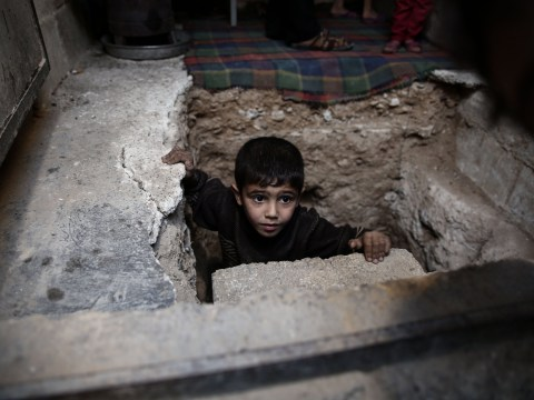 The children who are spending Christmas Day trapped in war zones