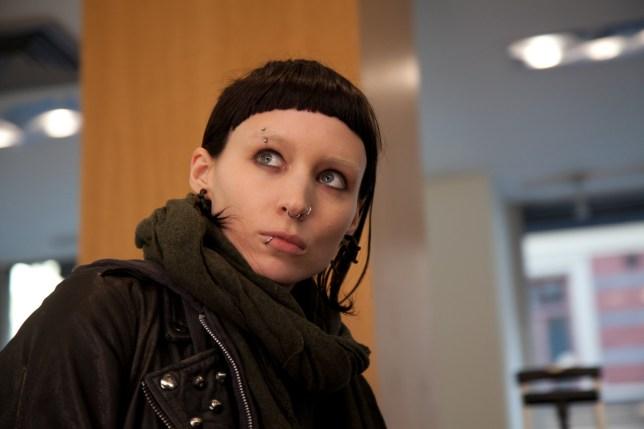 Film: The Girl With The Dragon Tattoo (2011) starring Rooney Mara as Lisbeth Salander. DF-07955.jpg