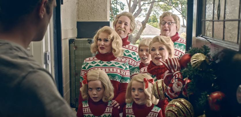 WATCH: Aldi's latest Australian Christmas ad is all kinds of weird