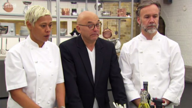 Gregg Wallace's expressive face was too much for some Masterchef fans (Picture: BBC)