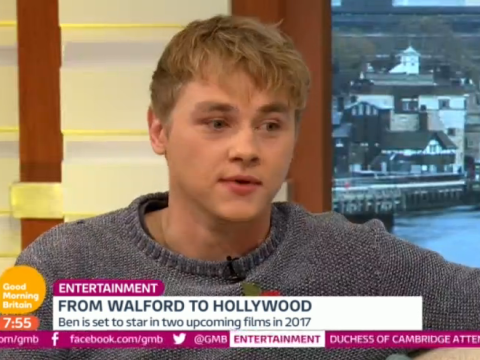 EastEnders fans defend Ben Hardy after Good Morning Britain's 'cringey Hollywood questions'