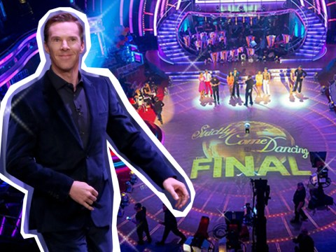 Here's how YOU can ensure Benedict Cumberbatch is at the Strictly Come Dancing final