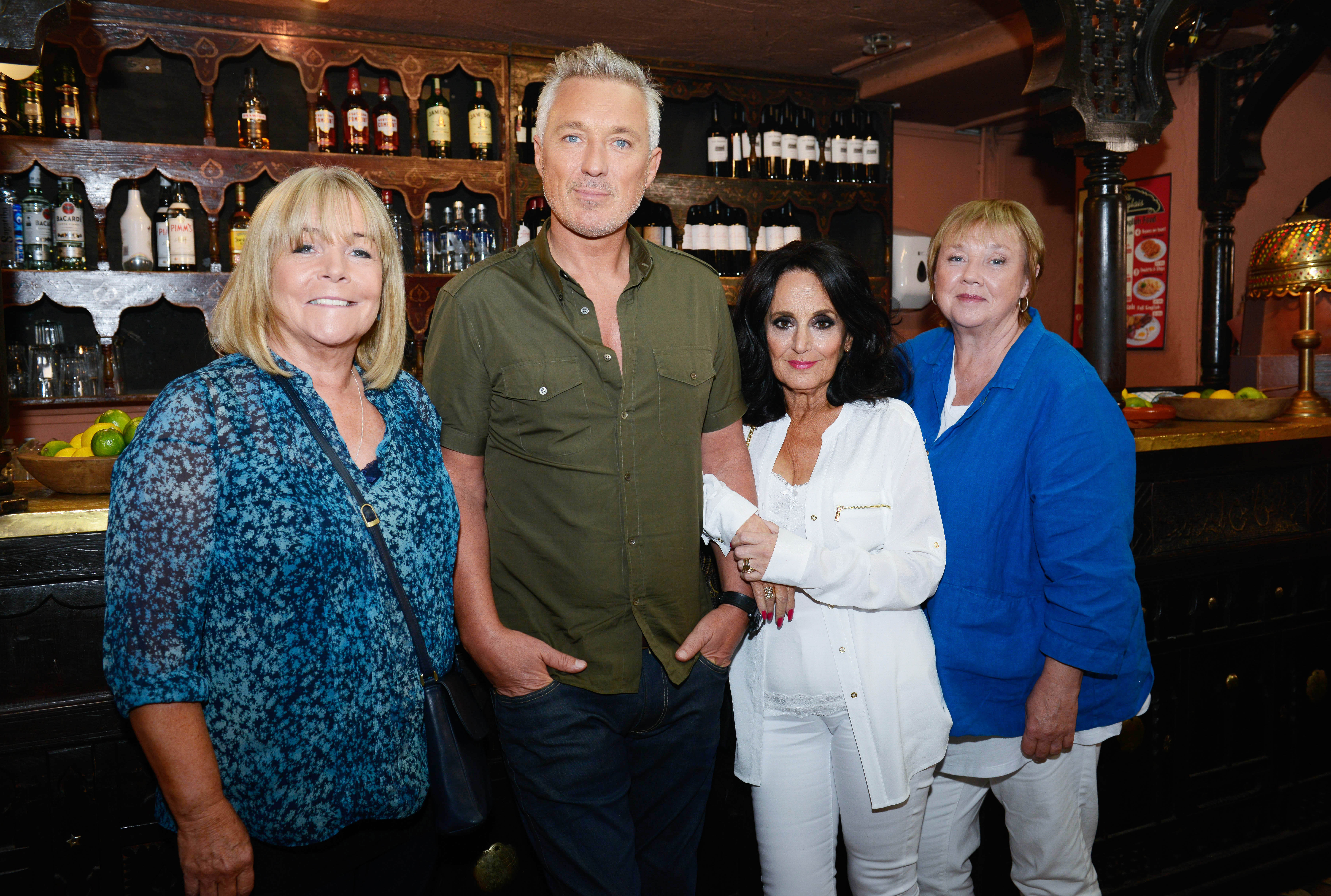Martin Kemp is back to save the girls abroad in the Birds Of A Feather Christmas special