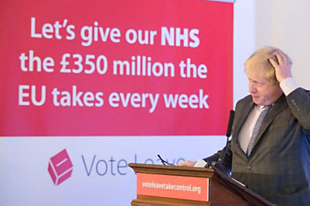 Petition calls for £350million to actually go to the NHS