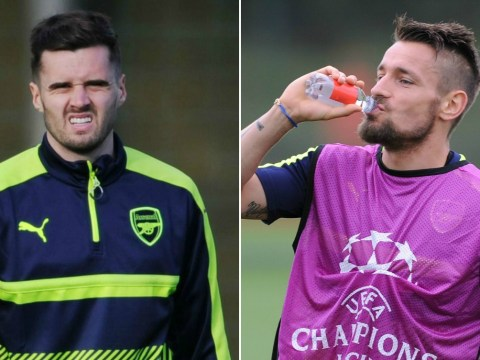 Arsenal fans believe Carl Jenkinson's Gunners career is over as Mathieu Debuchy starts against Bournemouth
