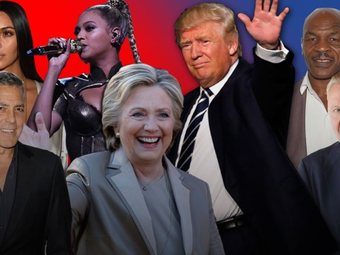 Here's how Hillary Clinton-loving Hollywood reacted as Donald Trump was elected 45th President of the United States