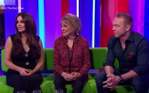 Cheryl advises Sir Chris Hoy on getting babies to sleep amidst pregnancy rumours