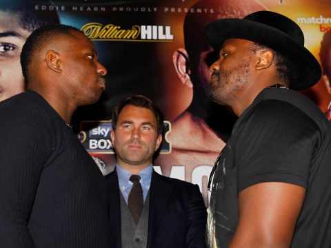 Dereck Chisora believes Dillian Whyte face off should go ahead despite 'Gloves Are Off' scuffle
