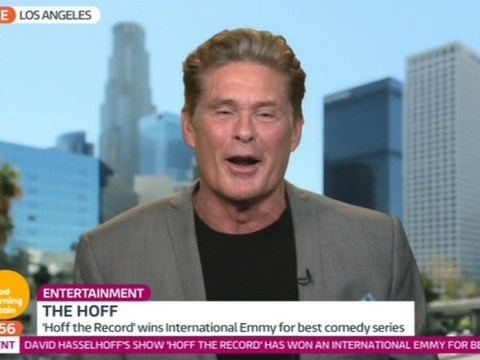 'Drunk' David Hasselhoff says Justin Bieber was right to punch fan on Good Morning Britain