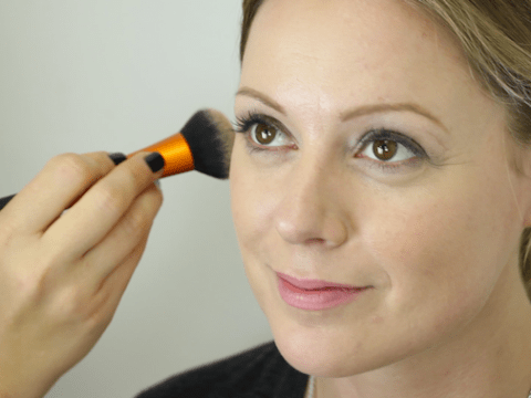 Do a full face of makeup in five minutes with our tutorial video