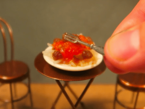 These videos of edible miniature food will brighten up your day