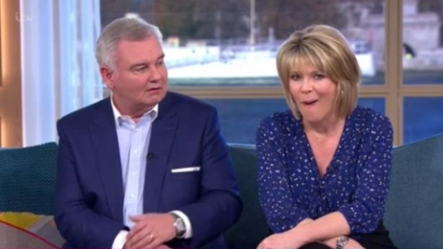 Eamonn Holmes is probably in the doghouse tonight (Picture: ITV)