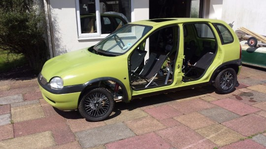 Vauxhall Corsa looks like a car but it's actually a pedal