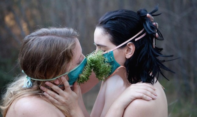 Ecosexuals believe having sex with the Earth could save it