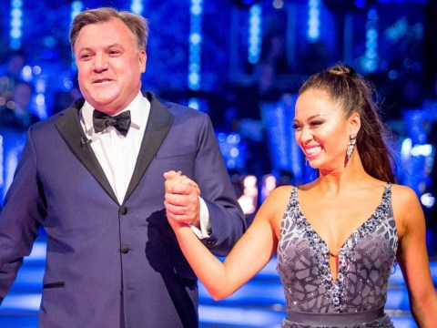 Ed Balls says he and Katya Jones TALK to each other constantly during live Strictly performances