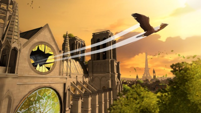 Eagle Flight (PSVR) - take that Notre-Dame!