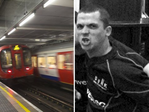 Thug pushed man onto Tube tracks because he thought he was Russian