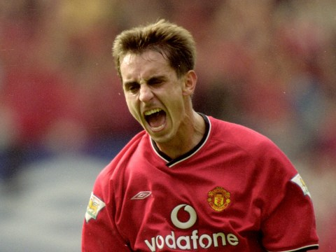 Gary Neville names the biggest 'scumbag' he ever faced with Manchester United