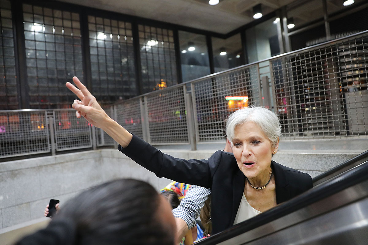 The woman who raised $2Million for a recount of US election votes