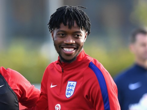 Chelsea starlet Nathaniel Chalobah scores superb strike in England training