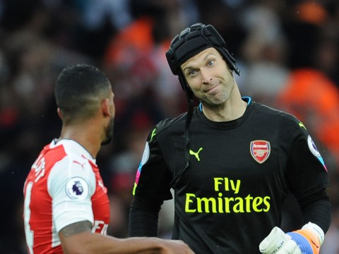 Walcott admits his advice for Petr Cech completely failed in Arsenal's draw vs Spurs