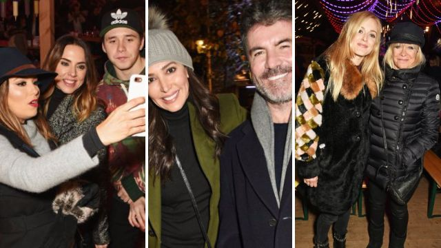 Simon Cowell, Eva Longoria, Brooklyn Beckham and a whole load of other celebs surprise fans at Winter Wonderland