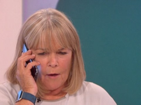 Linda Robson takes panicked phone call live on Loose Women as pregnant daughter's due date arrives