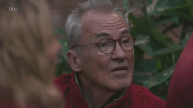 Larry Lamb opened up about his long-lost daughter in I'm A Celebrity (Picture: ITV)
