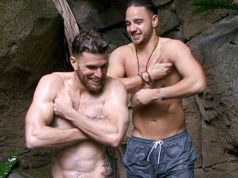 Sexy showers have already been enjoyed on I'm A Celebrity 2016… but not by the girls