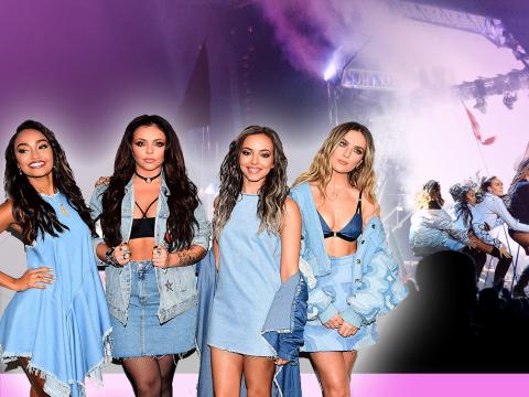 Little Mix put themselves forwards to headline Glastonbury
