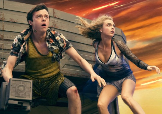 Cara Delevingne and Dane DeHaan star in sci-fi flick Valerian and the City of a Thousand Planets (Picutre: Lionsgate)