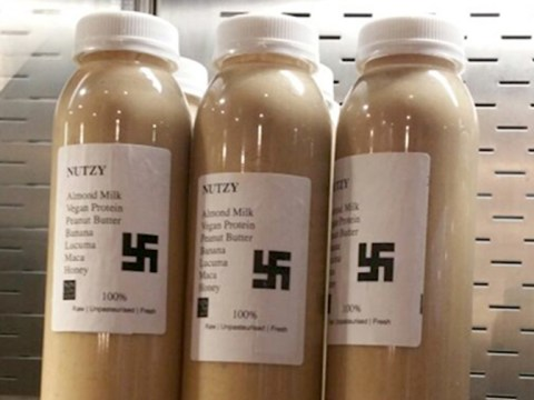 London cafe apologises after 'rogue employee' started selling a swastika 'Nutzy' smoothie