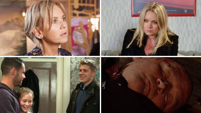 12 soap spoiler pictures: Coronation Street death attack, Emmerdale crime, EastEnders shock news, Hollyoaks collapse