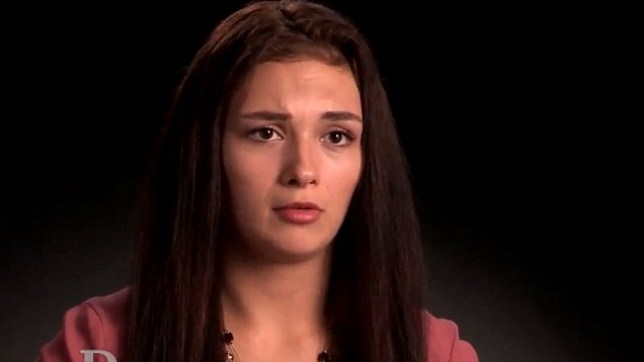 Haley says she is pregnant with the baby Jesus (Picture: You Tube/Dr Phil)