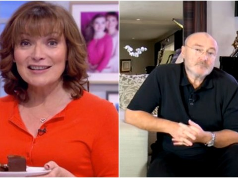 Phil Collins sends video apology after pulling out of Lorraine's TV show due to 'illness'