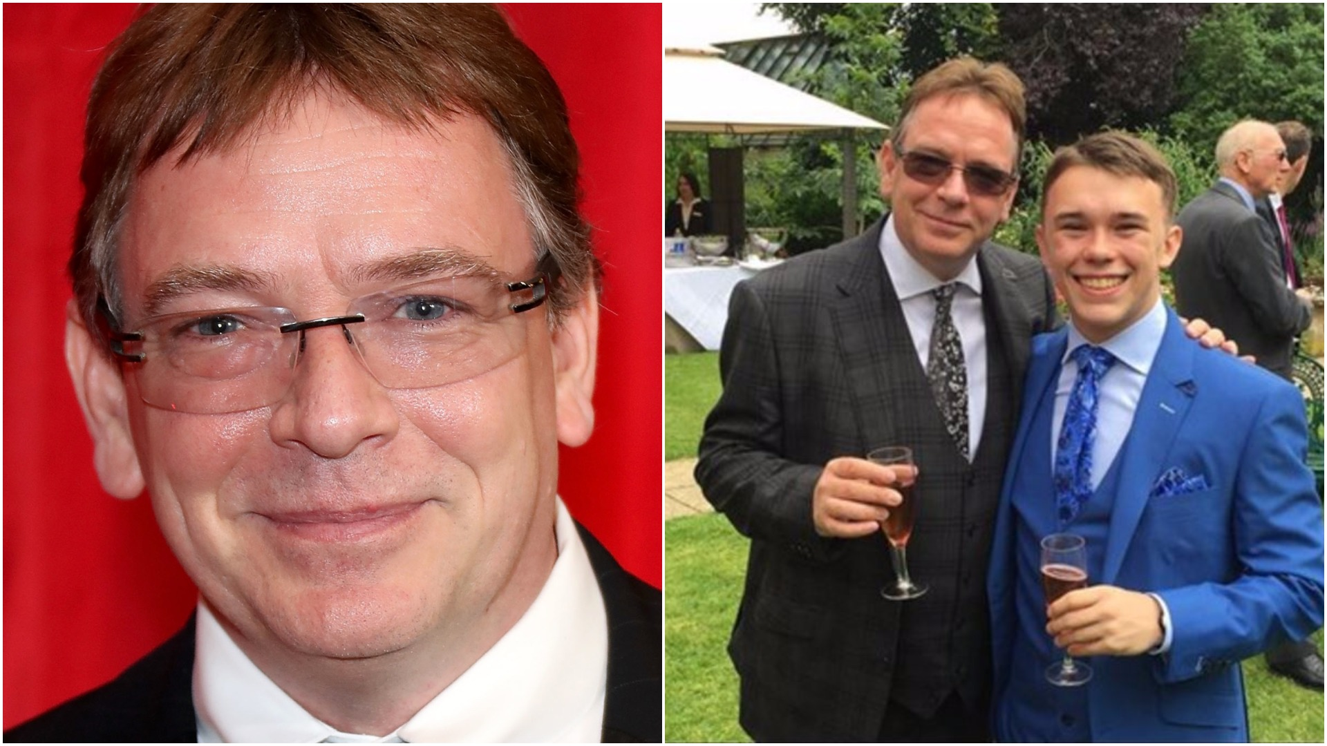 EastEnders star Adam Woodyatt's son hit by a car and put in induced coma but still plans to run London Marathon