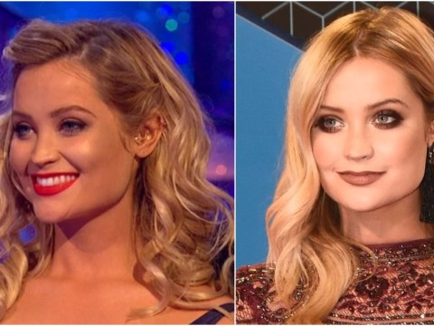 Laura Whitmore leaves fans confused as she hosts MTV EMAs at the same time Strictly Come Dancing airs