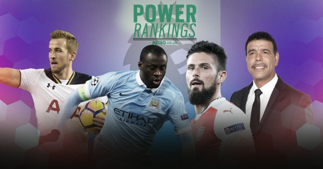 Premier League Power Rankings: Wayne Rooney and Yaya Toure