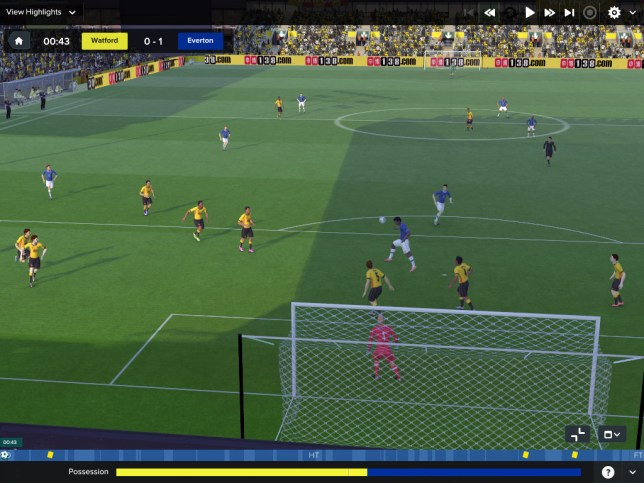 Football Manager 2017 (PC) - it's never been a looker