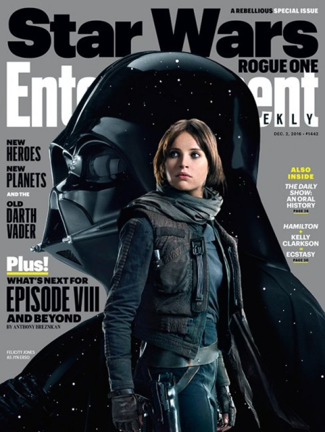 The force is strong. (Picture: ENTERTAINMENT WEEKLY)