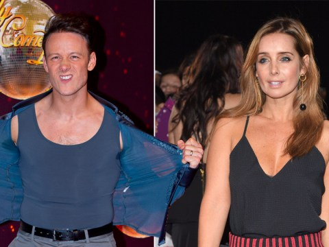Will Strictly's Louise Redknapp sit this weekend out after kicking Kevin Clifton in the balls?