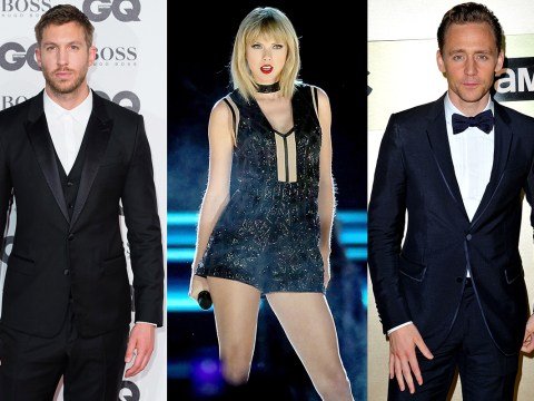 Taylor Swift is apparently writing new music about exes Calvin Harris and Tom Hiddleston