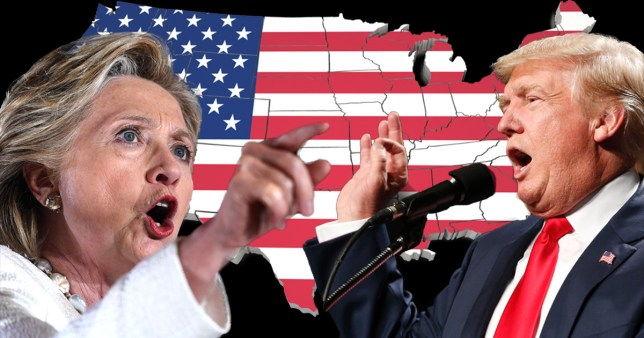What do the polls say in battleground states? credit: Getty