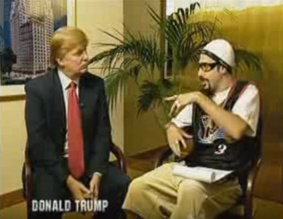 Remember that time Ali G interviewed Donald Trump?
