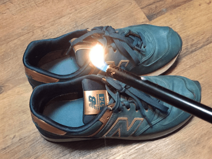 New Balance expressed their support for Trump so people burnt their trainers