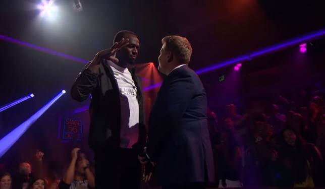 Usain Bolt Spits Lightning In Drop The Mic Rap Battle With James