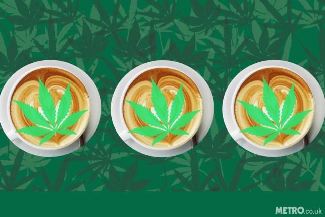 Weed-infused coffee
