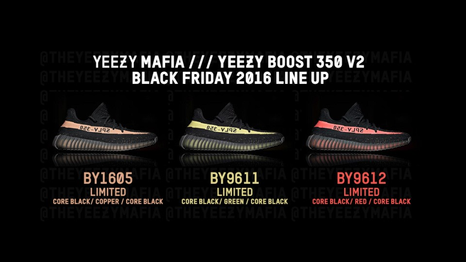 Adidas Confirms Yeezy Boost 350 V2 'Core BlackRed' Release