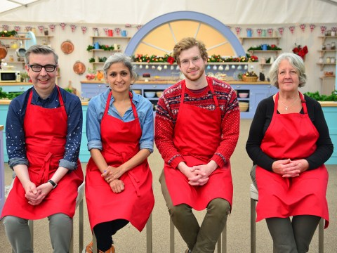 The Great Christmas Bake Off to feature explosive row between Chetna Makan and James Morton